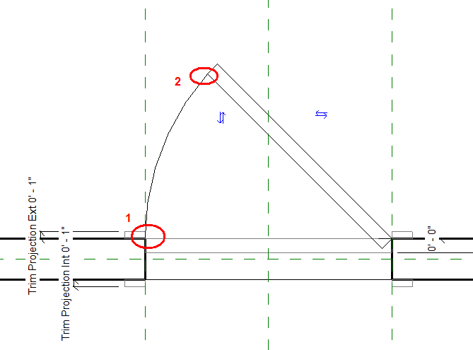 Add Dimensions for the Panel Width and Thickness from the Detail tab\u003eDimsension panel\u003eAligned. Add Dimensions for Plan Swing from the Detail tab\u003eDimsension ...