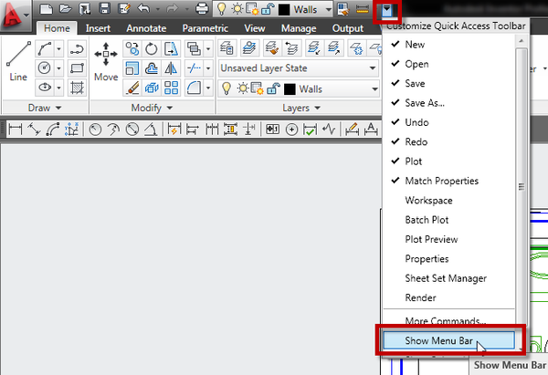 Adding Toolbars With The Ribbon Autocad Imaginit