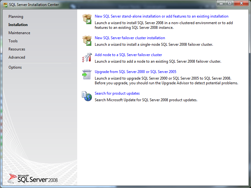 microsoft sql server download and install