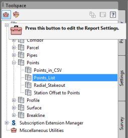 2_Edit Report Settings