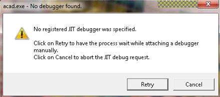 JIT error