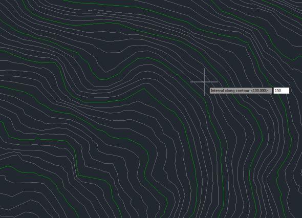 Contour Line Drawing In Autocad : Get rid of those pesky contour label lines imaginit civil