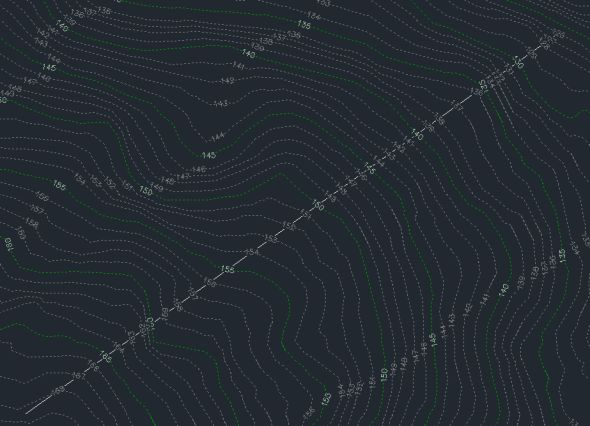 Contours Multiple Interval Created