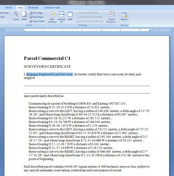 6_Edit Report in Word