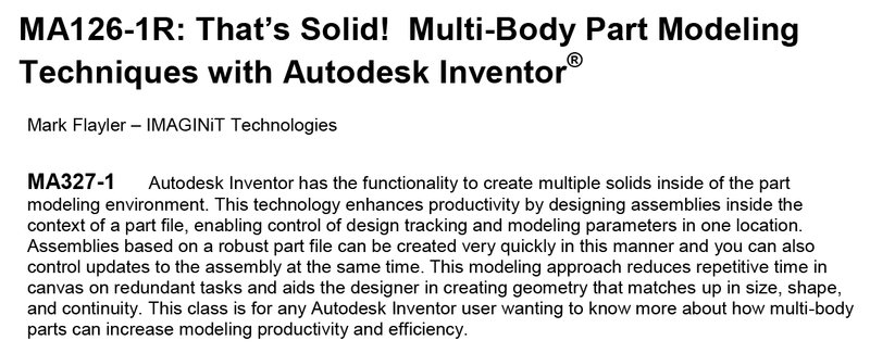 Multi-Body Modeling