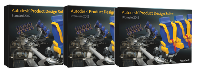 Autodesk 2012 Product Suites