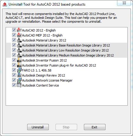 Autodesk Quick Uninstall - IMAGINiT Building Solutions Blog