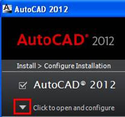 Installation click to open and configure