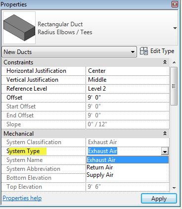 In Revit MEP 2012 You dont have to be apart of a system to