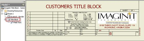dwg title block templates - all my inventor drawings need a different title block are