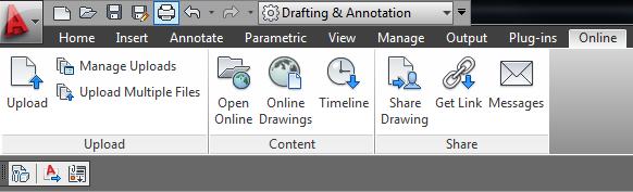 Acad 2012 online tab