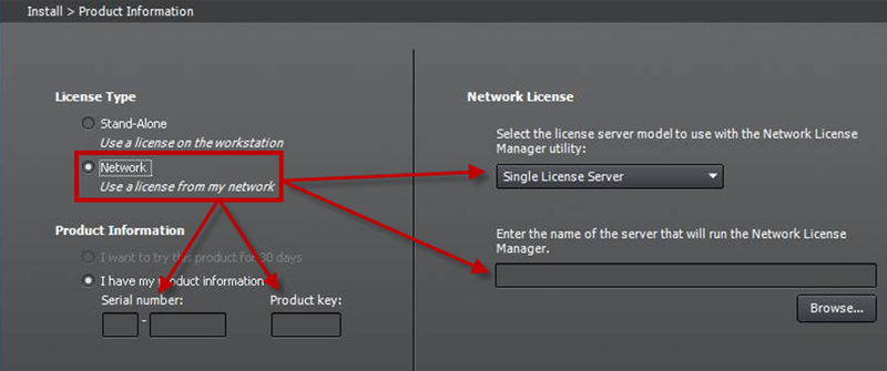 autocad 2012 serial key and product key