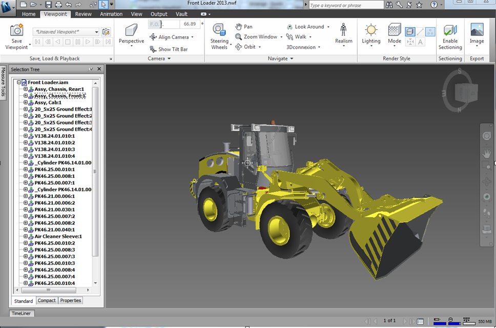 Product Design Suite: Large Assembly Review with Navisworks