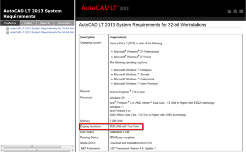 AutoCAD_LT_2013_System_Requirements