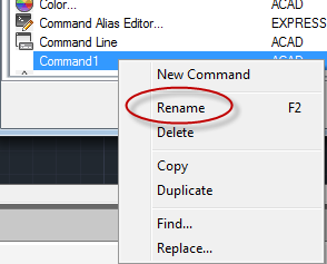 AUTOCAD_NEW COMMAND 1_RENAME