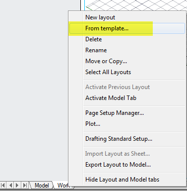 ACAD_PAGE SETUP MANAGER_FROM TEMPLATE