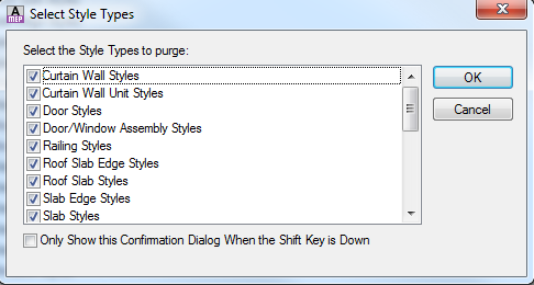 ACAD_MEP_MANAGE_STYLE MANAGER_STYLES TYPES DB
