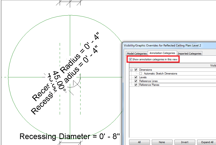 Revit Trying To Add Symbolic Lines To Light Fixtures For Floor Plan