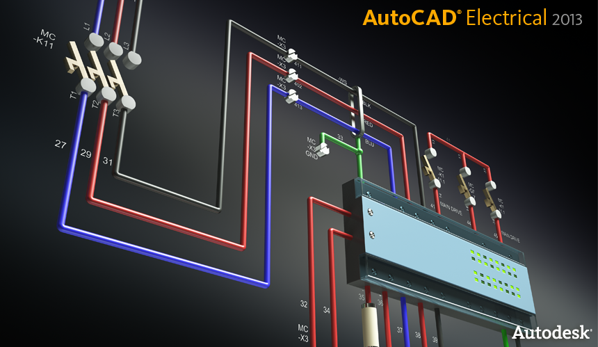 imaginit manufacturing solutions blog: autocad electrical, Wiring electric