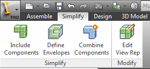 Inventor Simplification