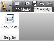 Inventor Simplification Part Mode
