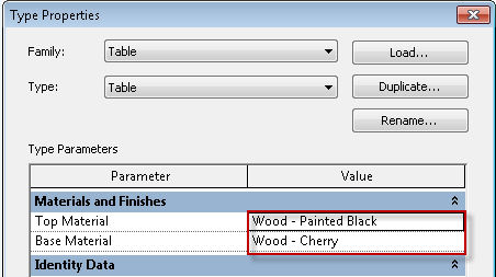 Revit: How to Add a Material Parameter to a Family