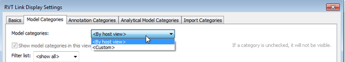 REVIT LINK DISPLAY SETTINGS