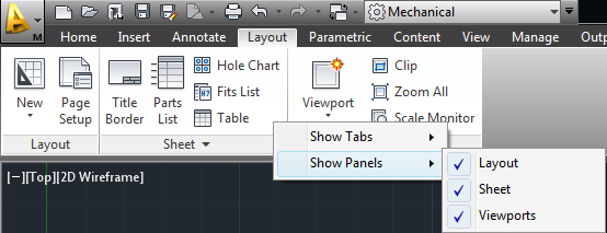 Layout Tab before-Panels