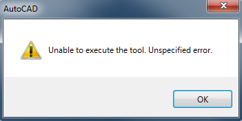 ACA_AMEP_unable to execute the tool