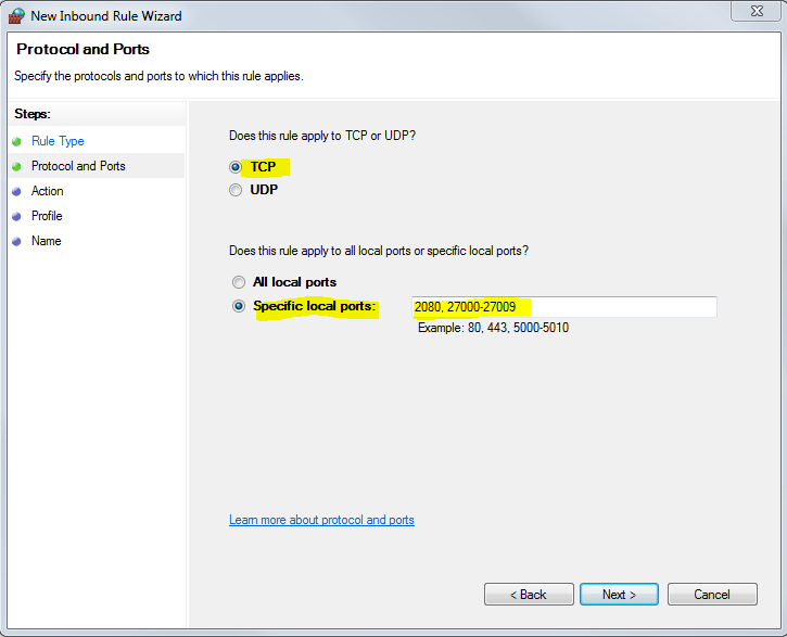 Autodesk Server: Creating a firewall exception for Autodesk ports