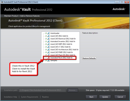 How to fix a missing Vault Add-in for Revit - IMAGINiT Technologies