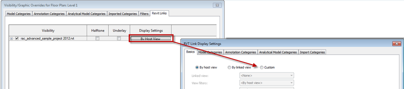 REVIT VISIBILITY GRAPHICS