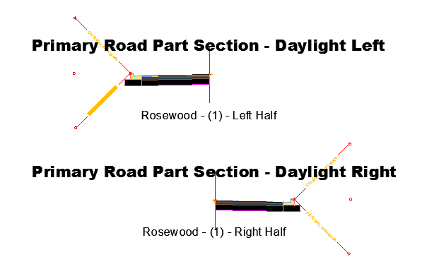 Section Half Daylight R and L