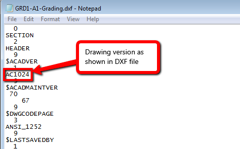 Here's an update on AutoCAD  dwg file formats by release