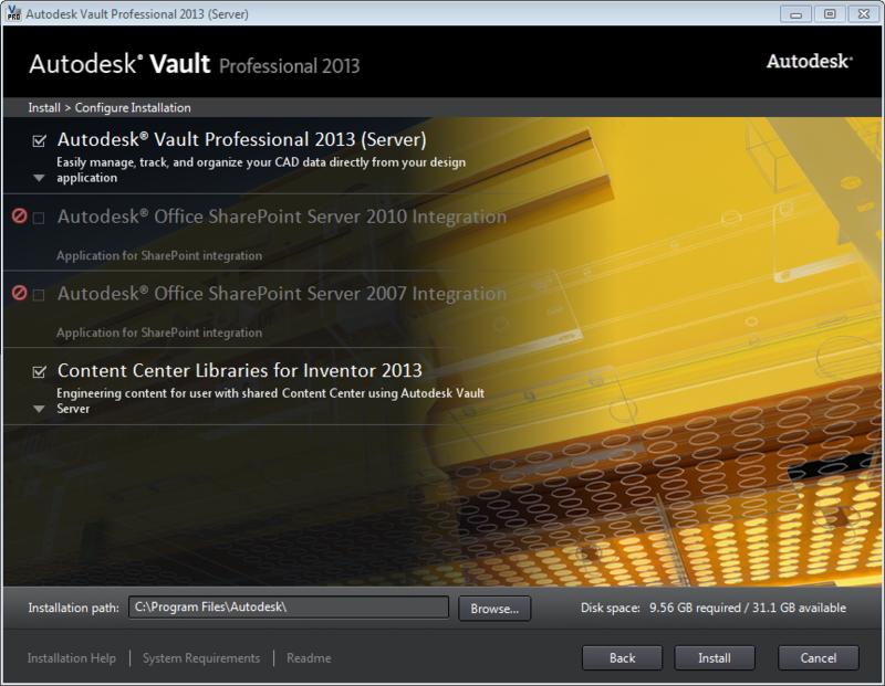 ADMS_2013_CC_install_screen