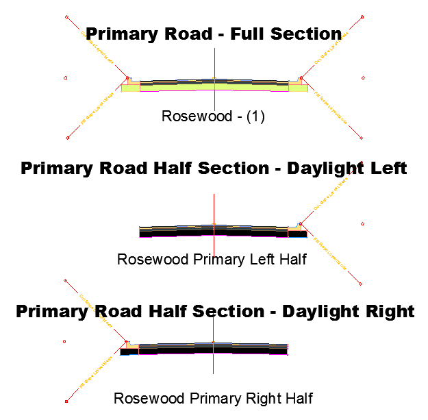 4 Way Primary Assemblies - Both Crowns