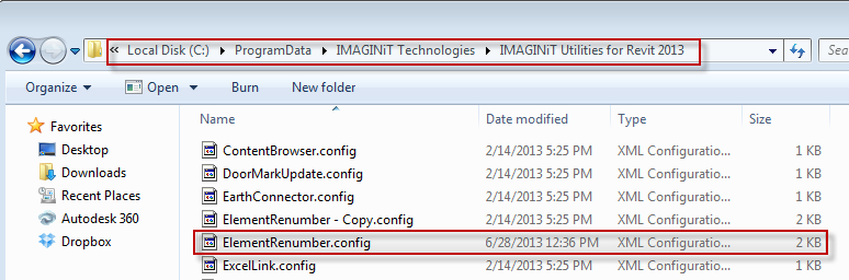 IMAGINiT Revit Utilities: Element Renumber Customization