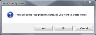 Recognize features