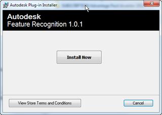 Autodesk Feature Recognition 1.0.1