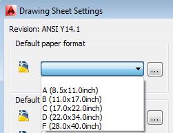 Drawing Sheet Settings E deleted