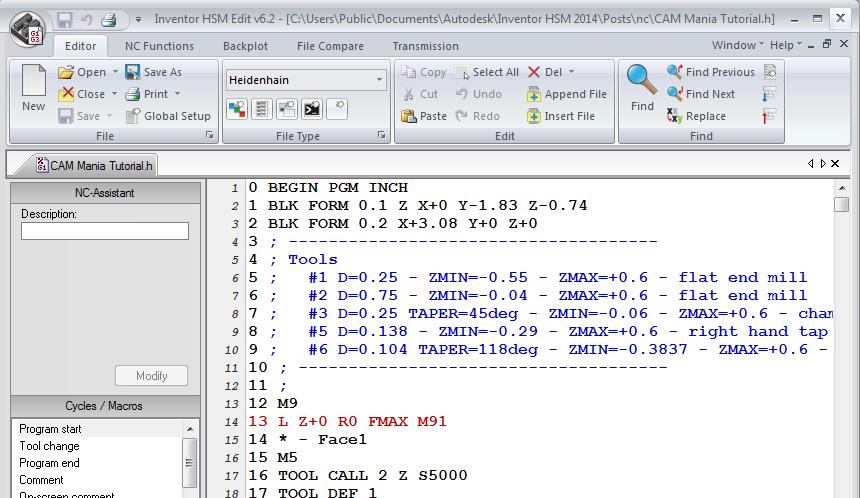 Program CNC toolpaths using Autodesk Inventor HSM Express