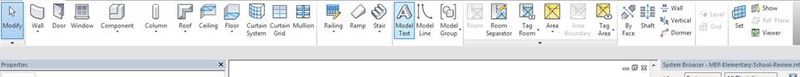 Revit missing panel names