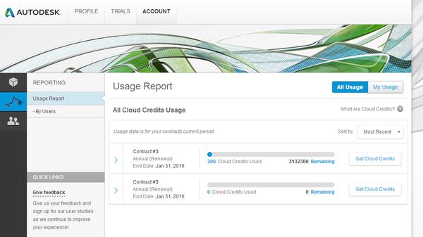 Autodesk 360 cloud credits imaginit technologies support blog