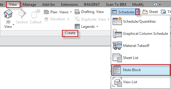 Revit: How to Schedule Generic Annotation - IMAGINiT Technologies