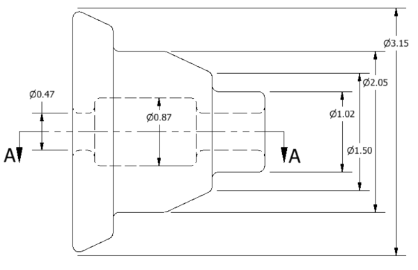 Linear Diameters Quicker Drawings And Model Modification