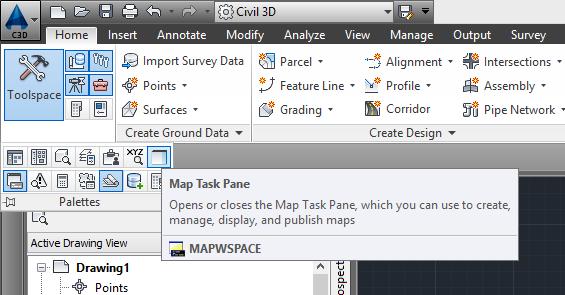 Mapwspace