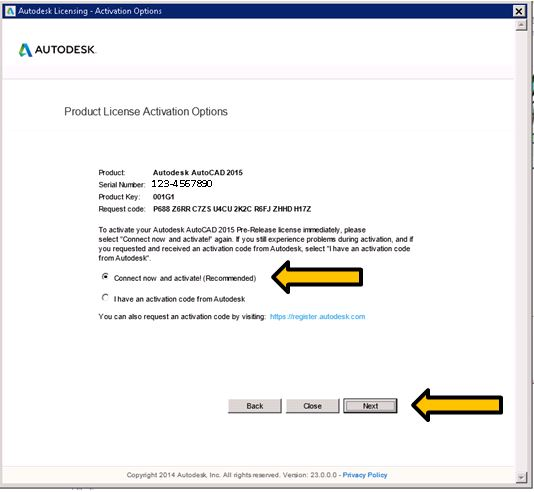 how to find autocad 2015 product key