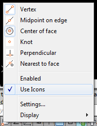 AutoCAD Status Bar Icons vs Text MENU