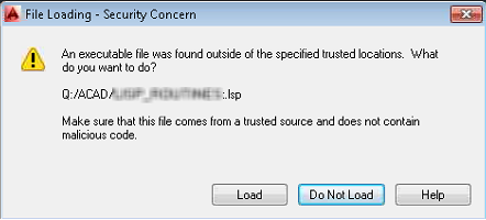 File loading security concern