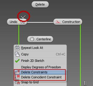 Delete Constraints